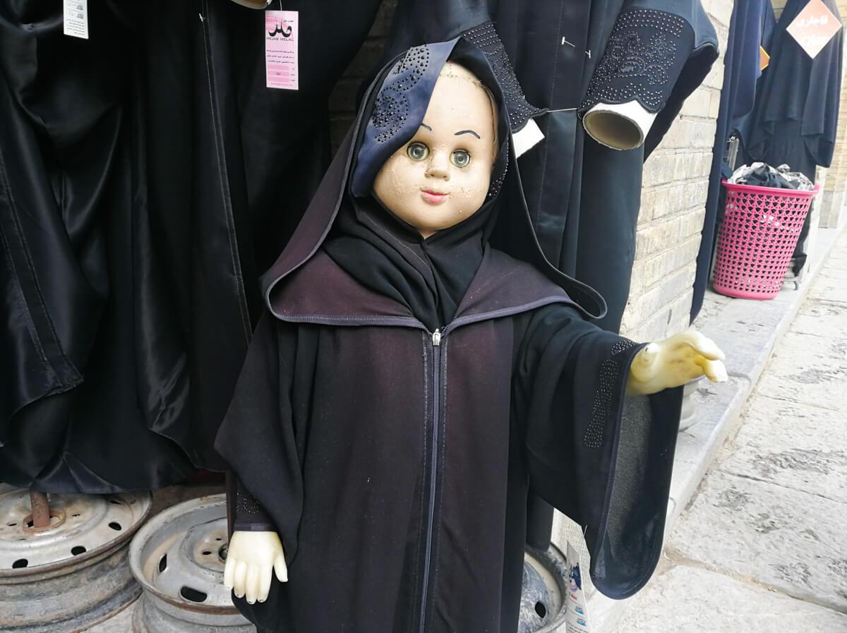 mannequins in Iran