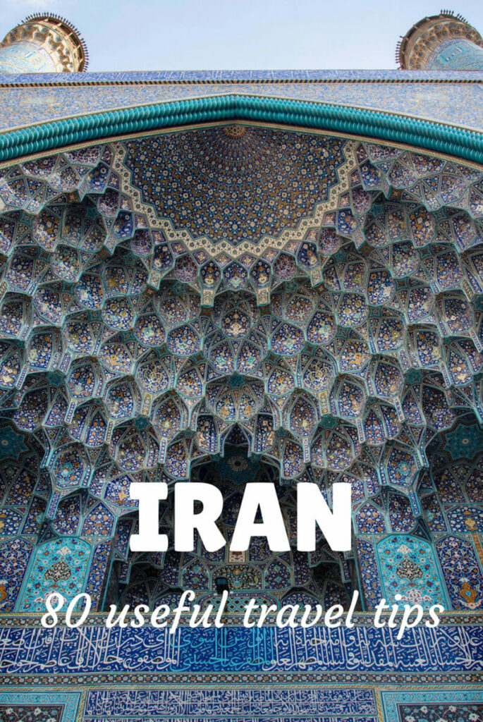 things to know for traveling to Iran