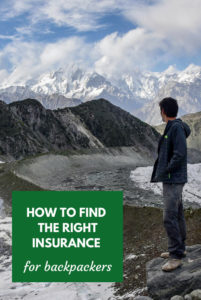 travel insurance for backpacking