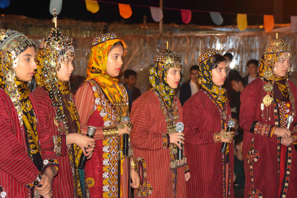 Turkmen people Golestan