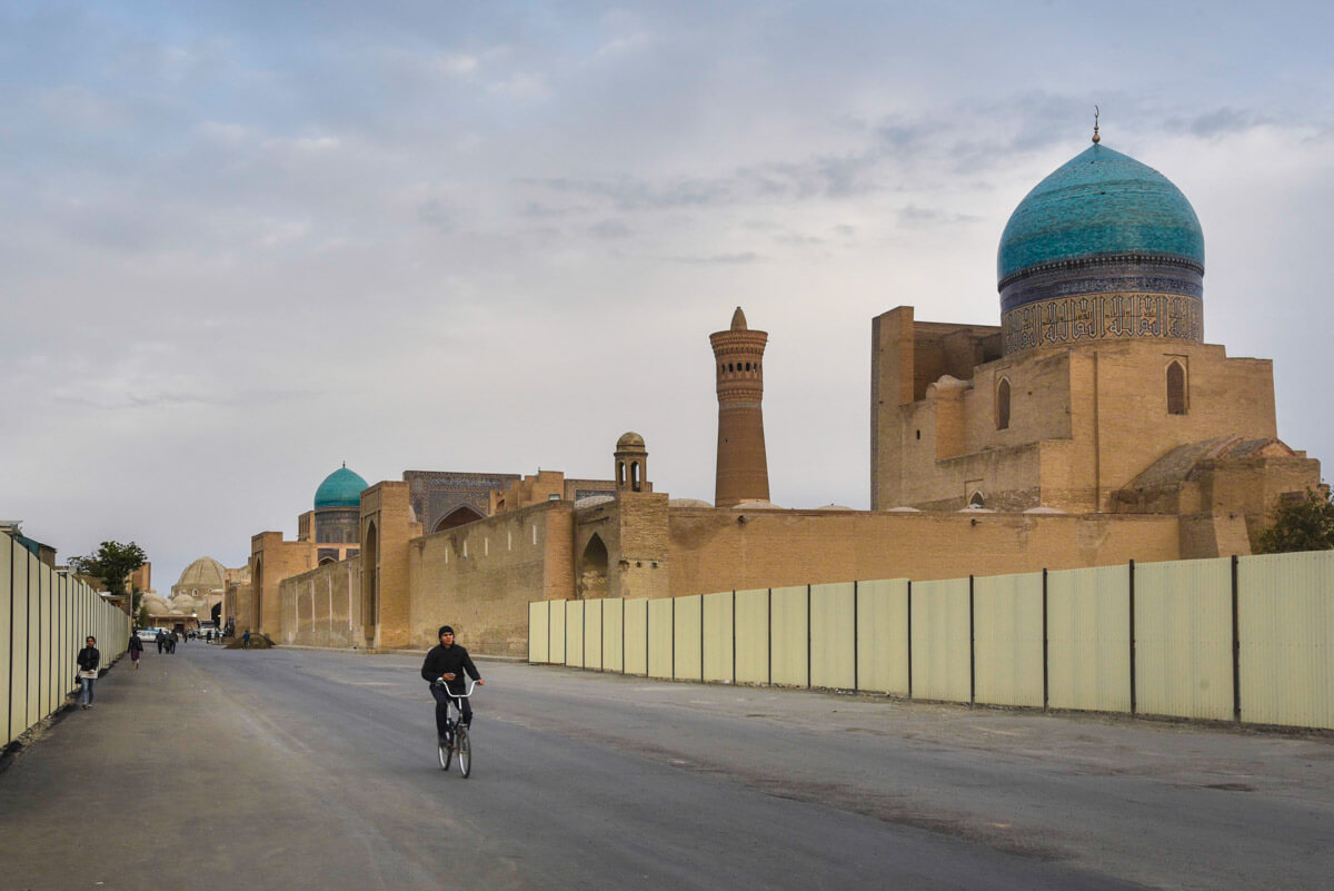 independent travel in Uzbekistan