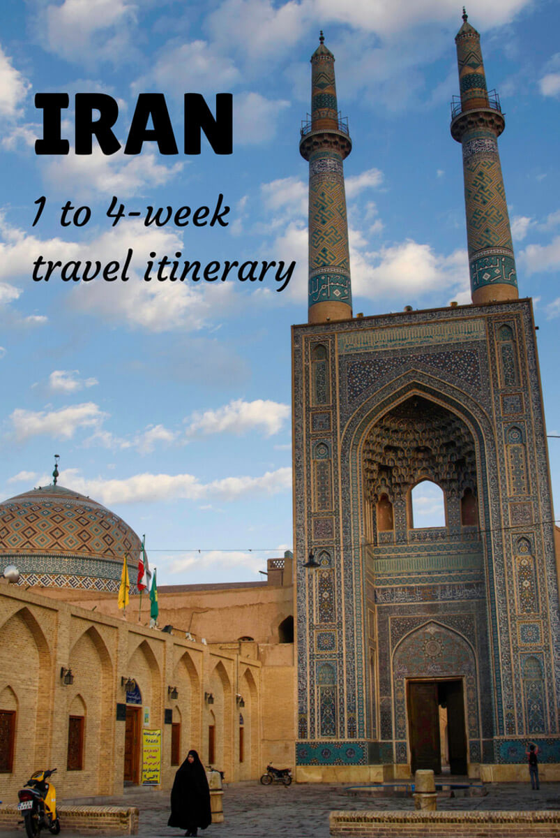 Independent travel to Iran