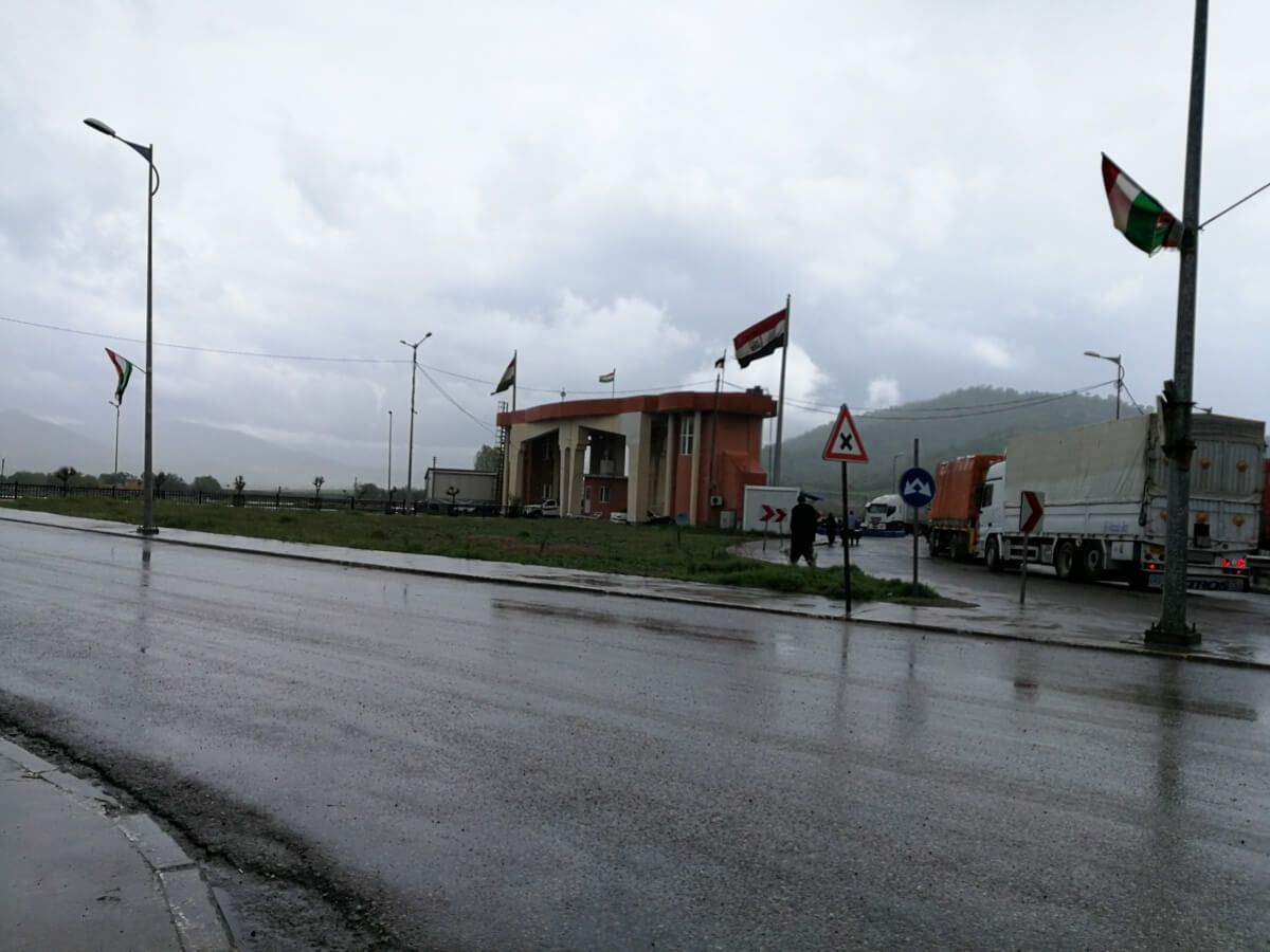 Iran border with Iraq
