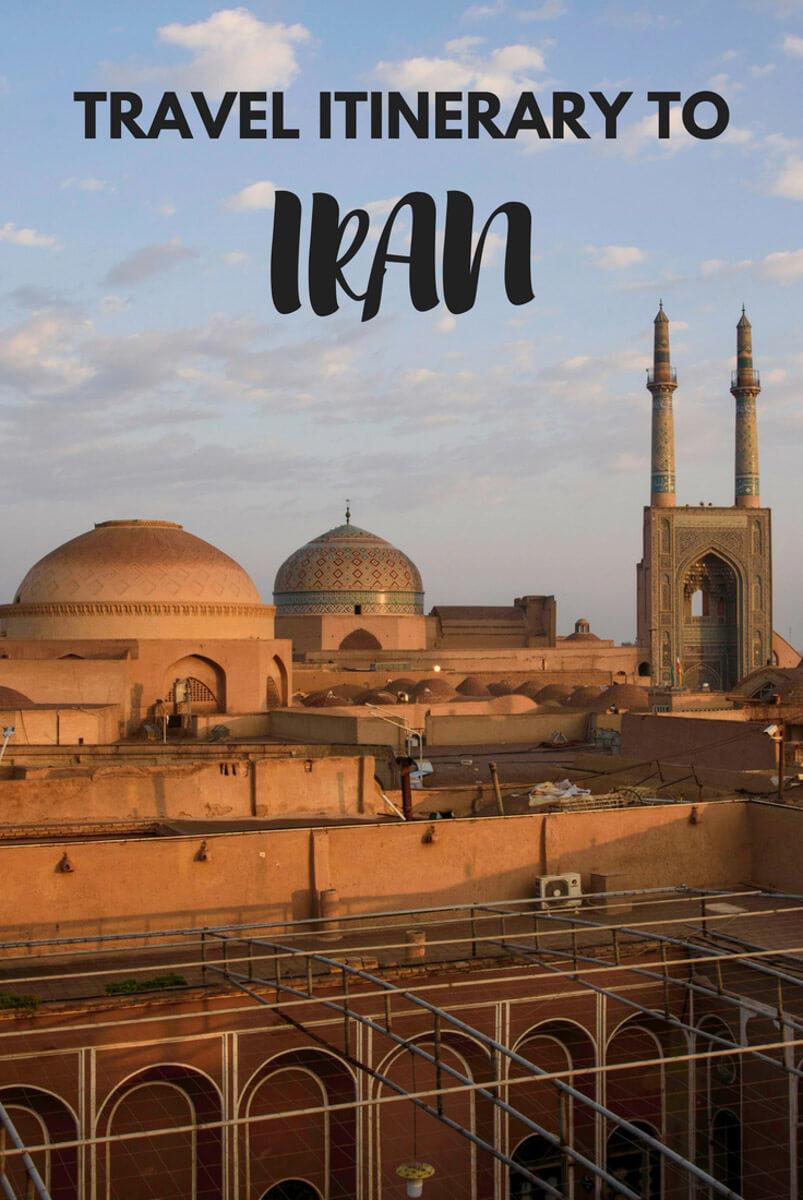 Iran itinerary