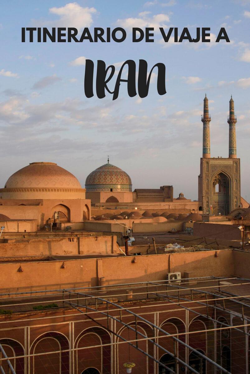qué ver en Irán