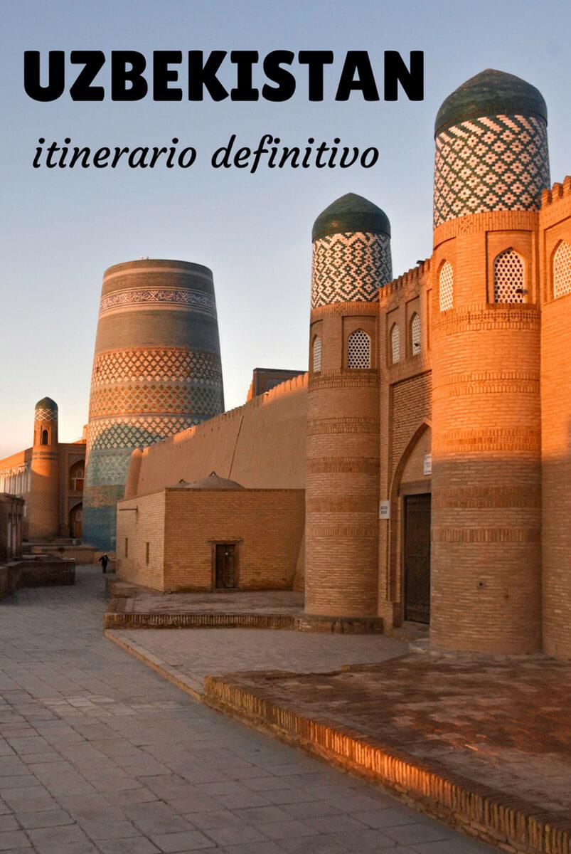 qué ver en Uzbekistán
