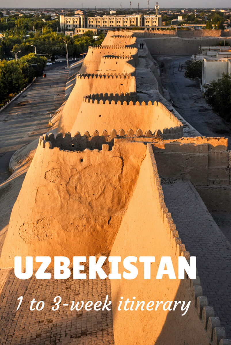 Uzbekistan itinerary