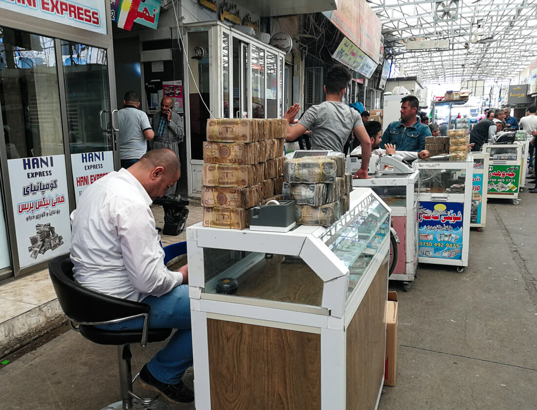 Dinero Irak
