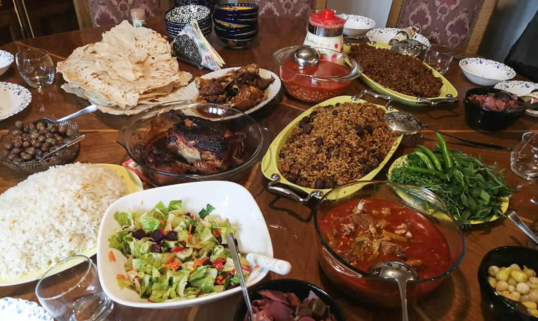 Comida kurda