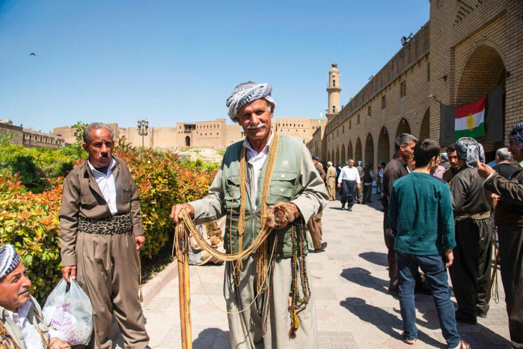 viajando a Erbil