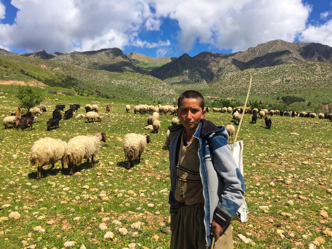viaje al Kurdistán