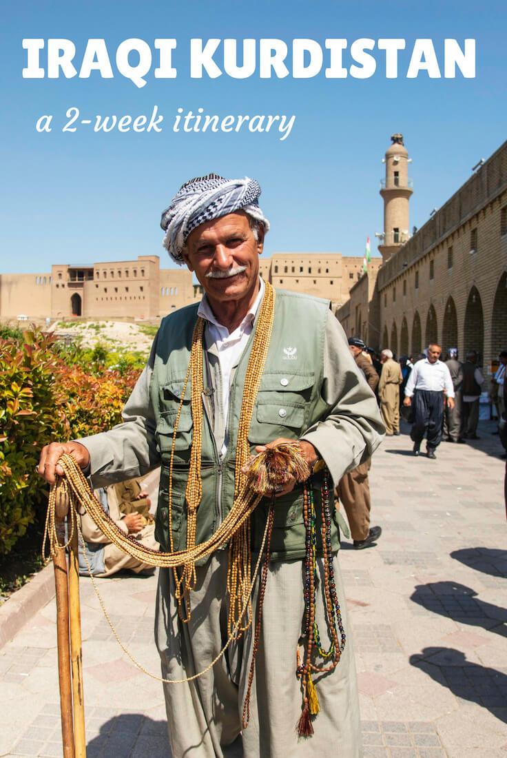 Kurdistan itinerary