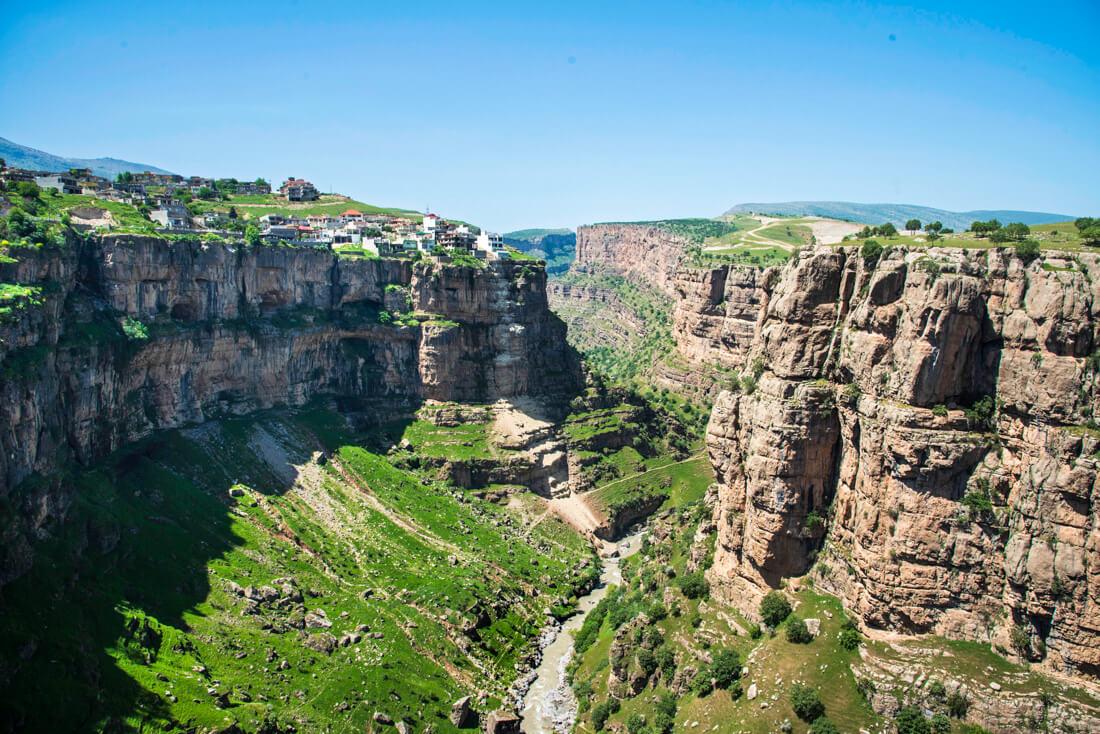 Rawandiz canyon