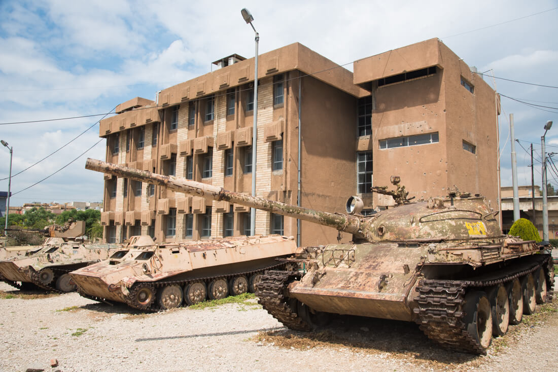 red security museum Sulaymaniyah