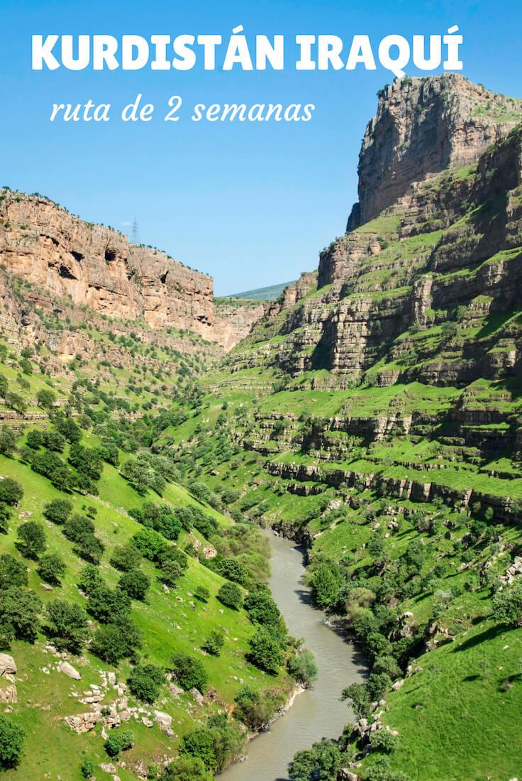 ruta Kurdistán