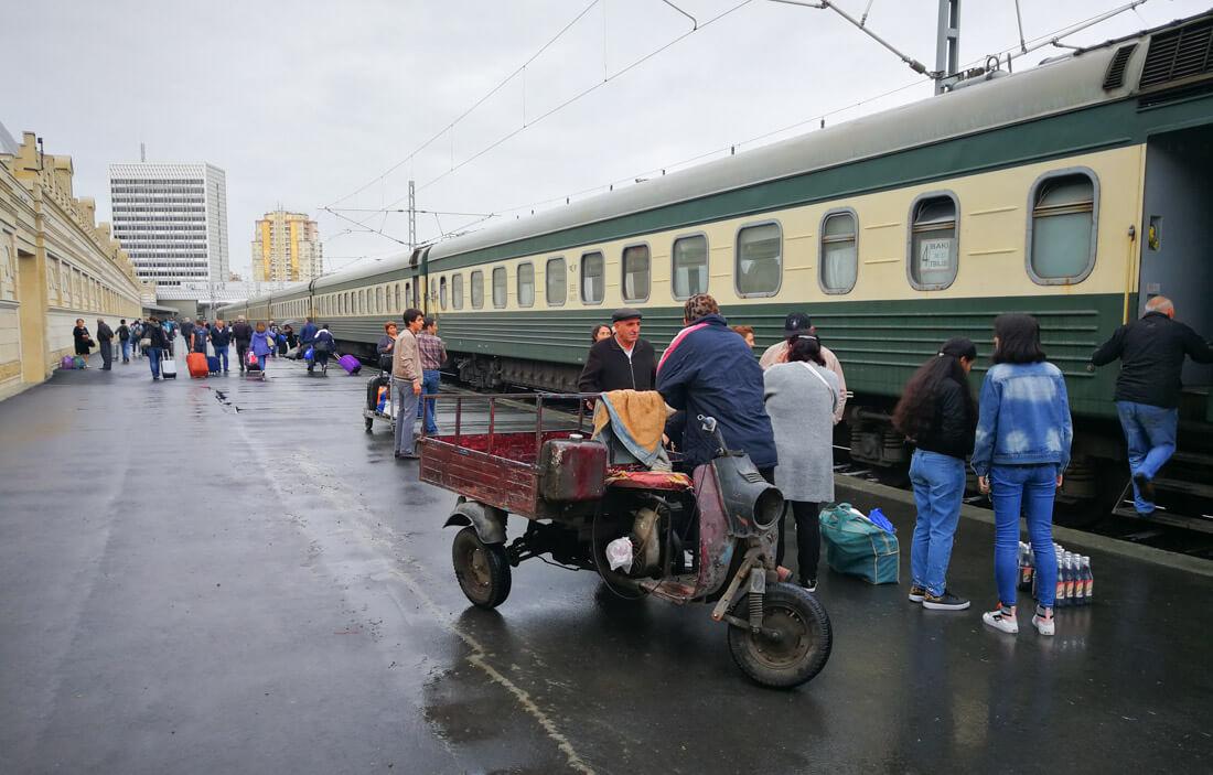 how to get to Azerbaijan