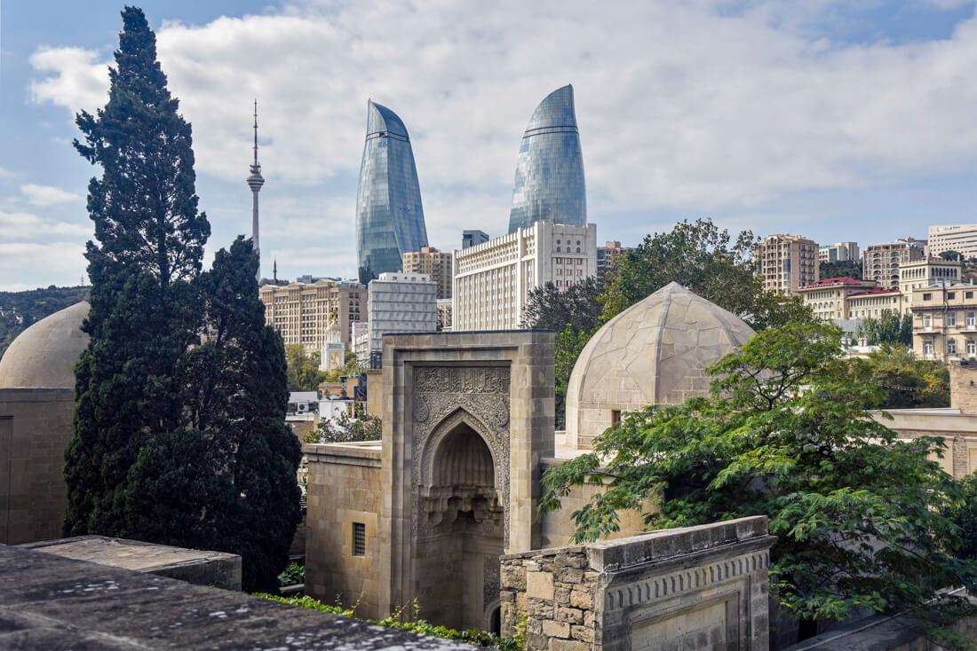 Visitar Bakú