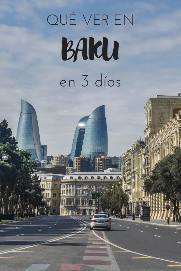 qué ver en Bakú
