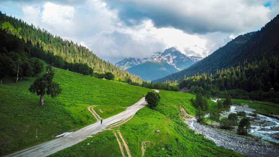 trekking abkhazia