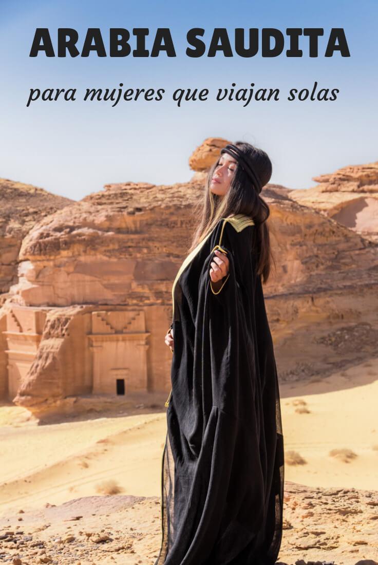 Viajar a Arabia Saudita mujer