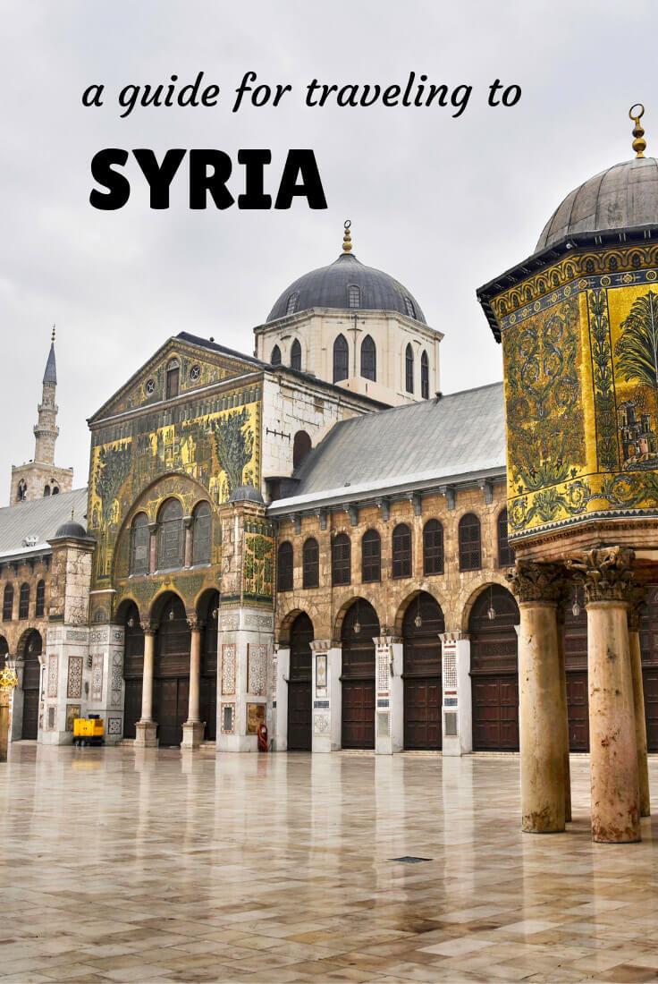 Travel in Syria