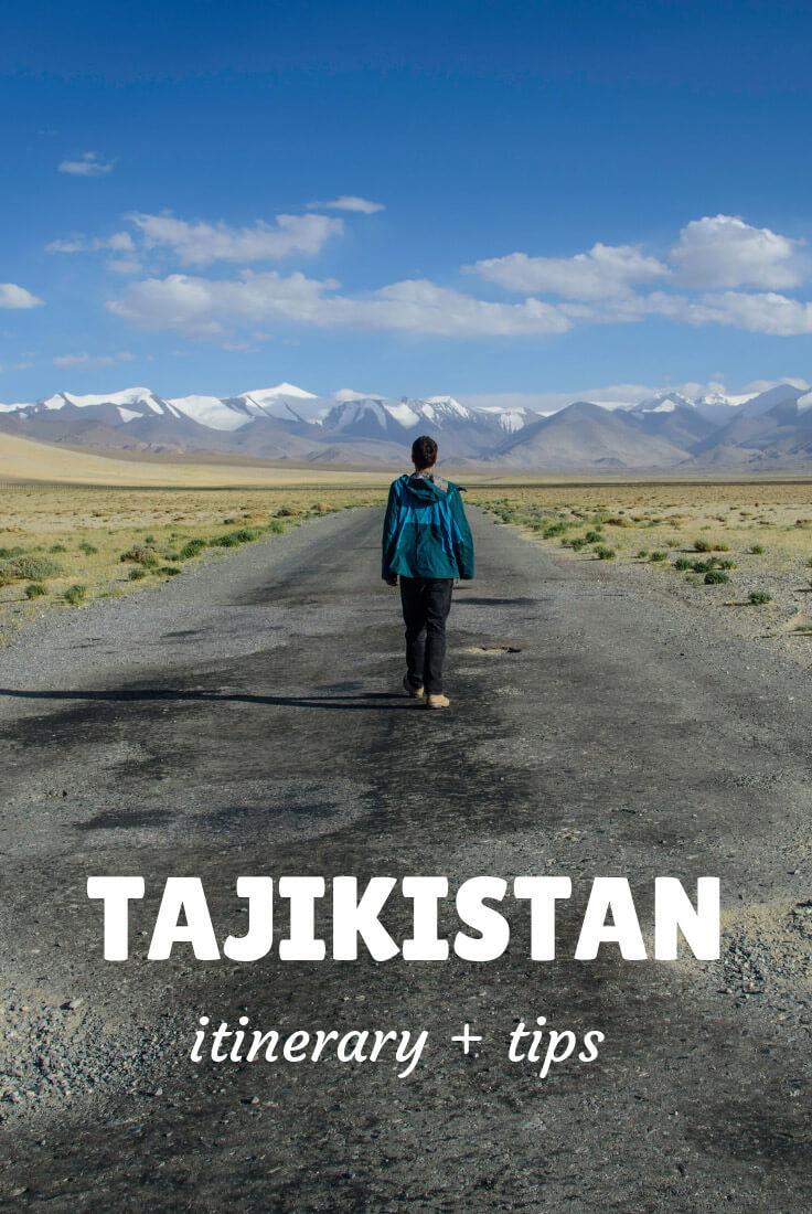 traveling in Tajikistan