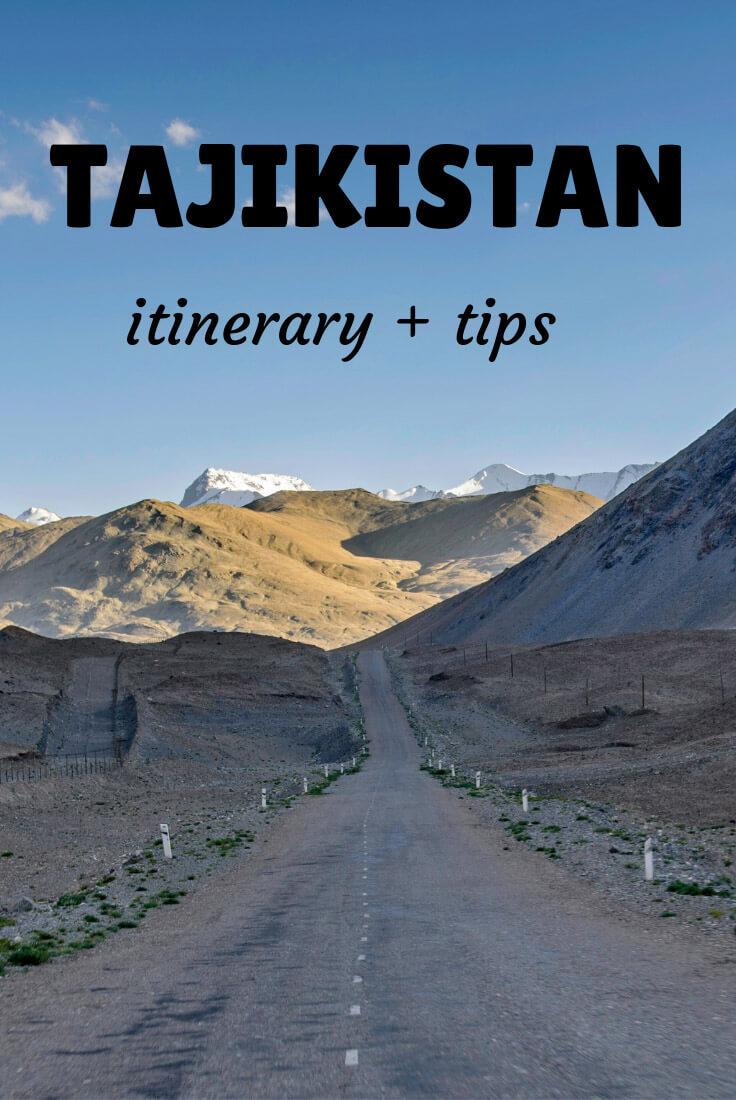 traveling to Tajikistan