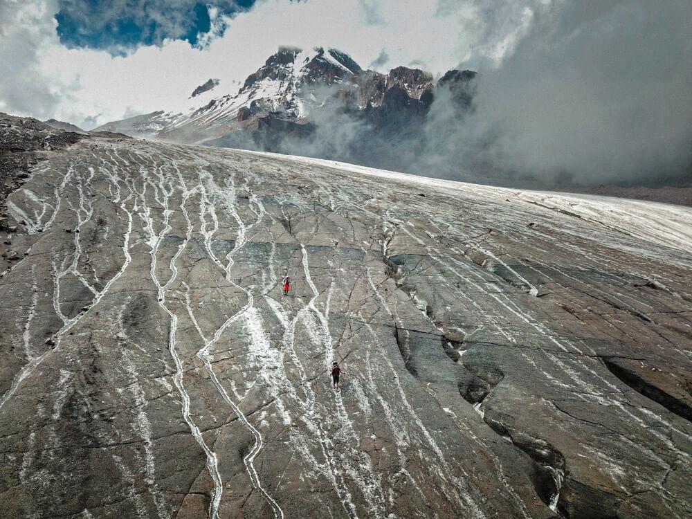 glaciar de guergueti
