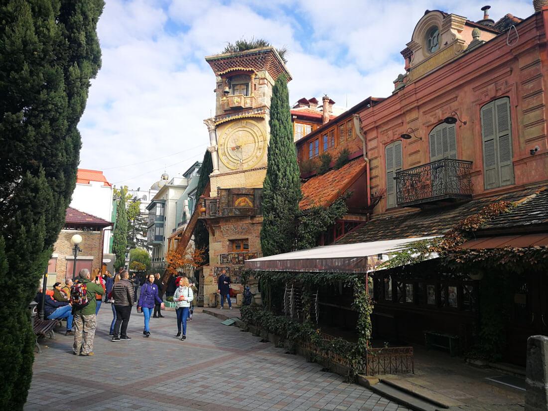 Places to visit in Tbilisi Georgia