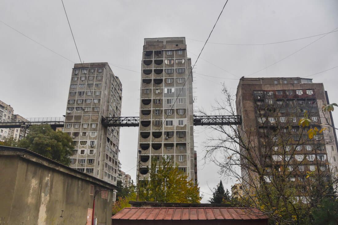 Soviet block Tbilisi