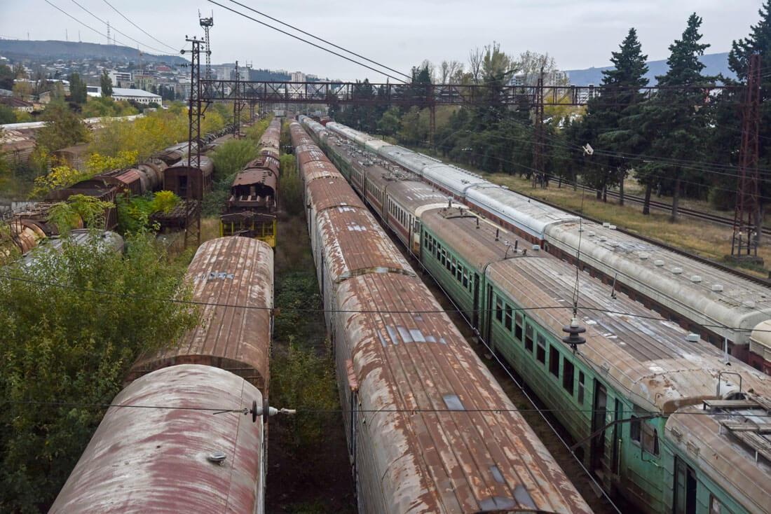 the trains of Gostiridze