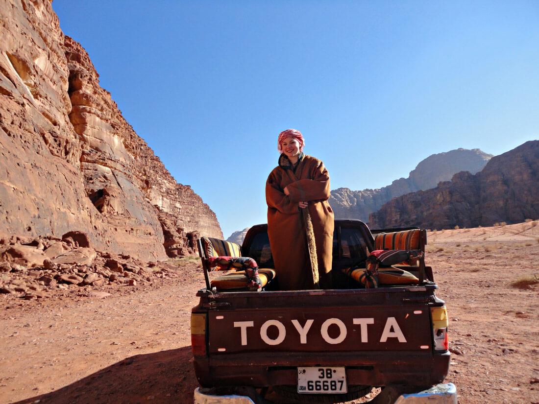 solo female travel to jordan