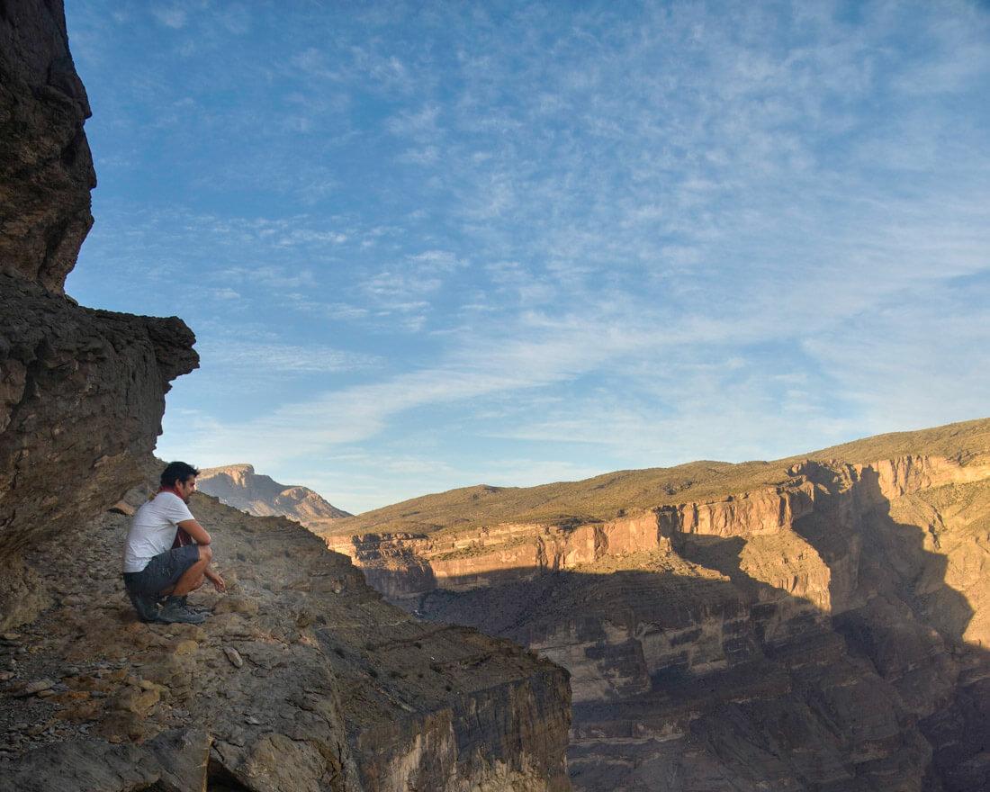 camping en Omán