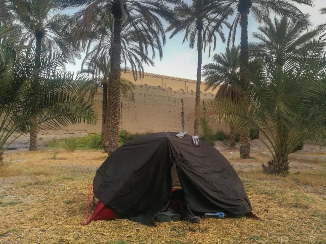 alojamiento  mochilero en Omán