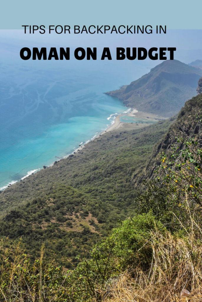 backpacking Oman