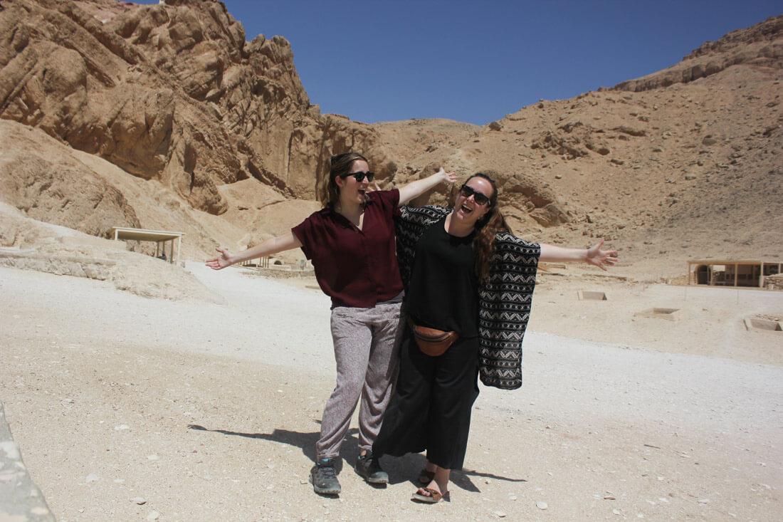 viajar Egipto mujer