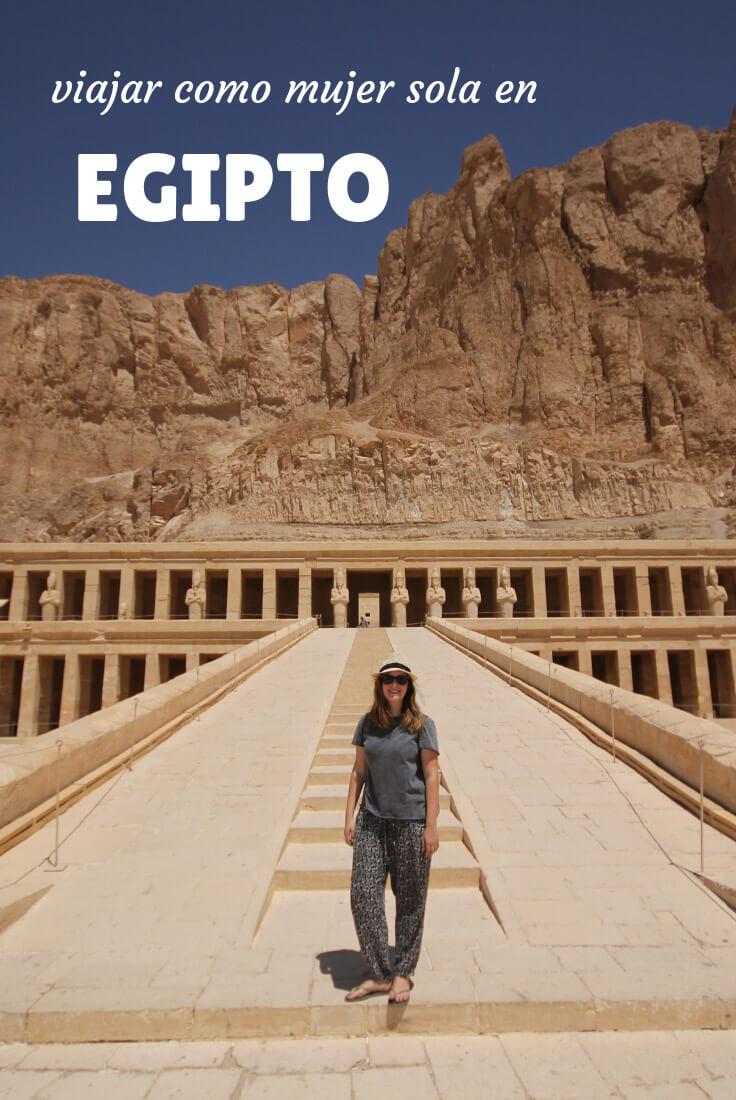 viajar sola como mujer en Egipto