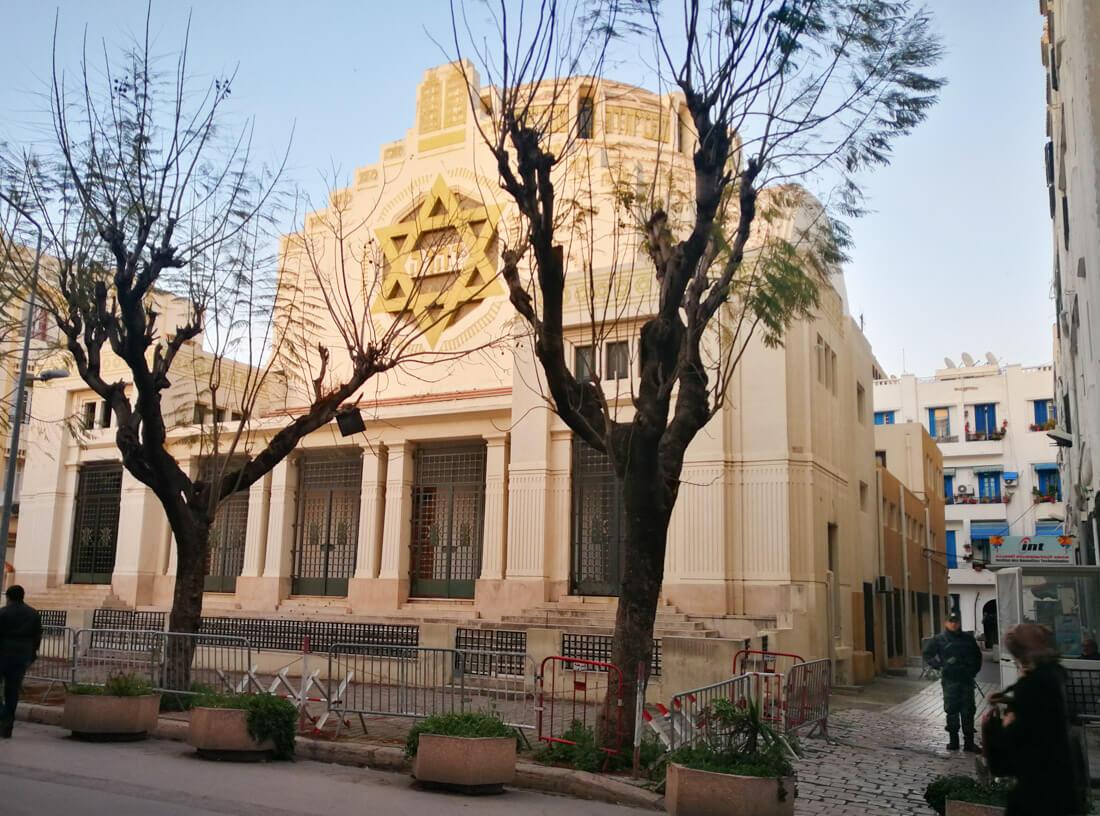 La sinagoga de Túnez