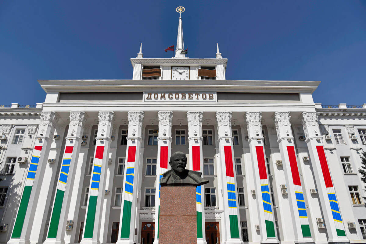 La Casa de los Soviéticos en Tiraspol