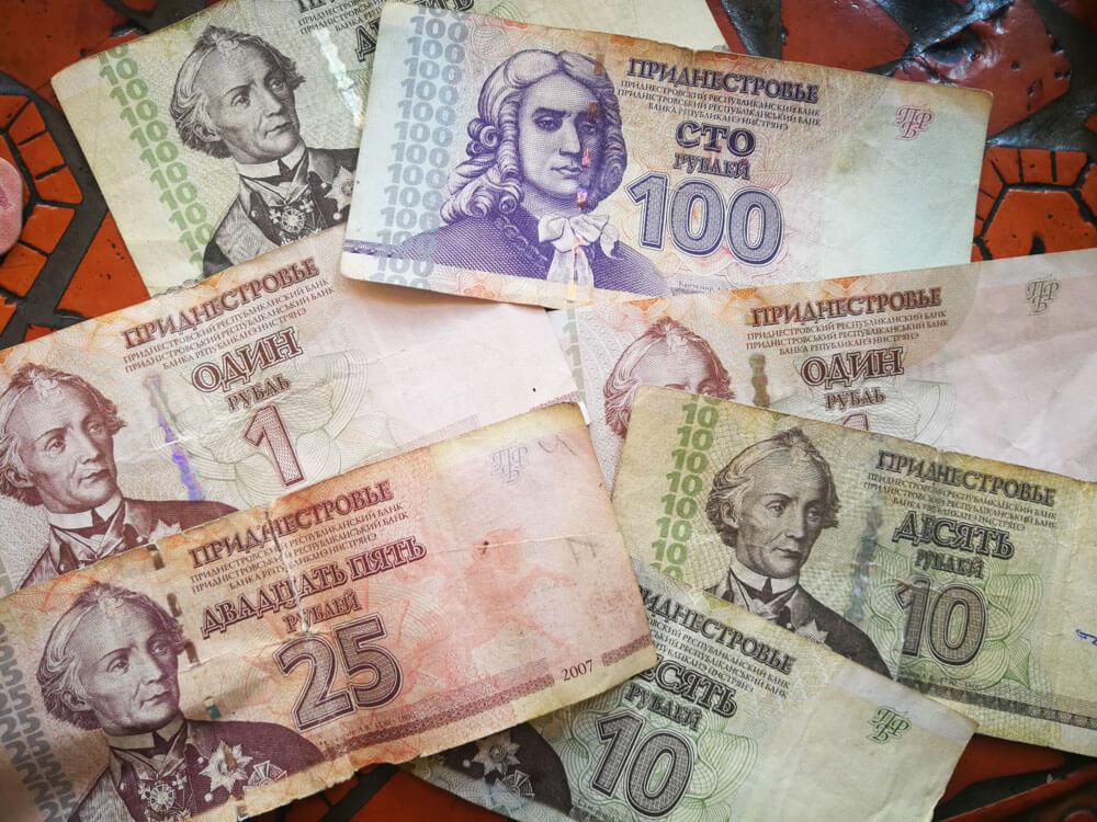 dinero Transnistria