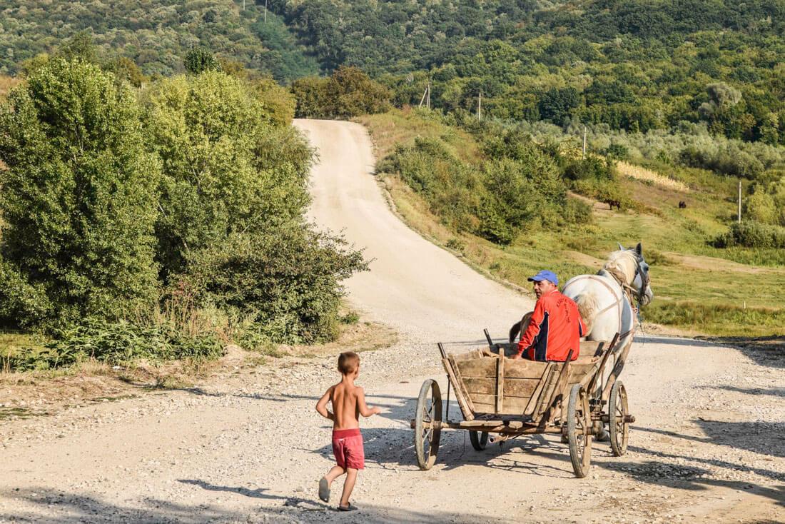 pueblos de Moldavia