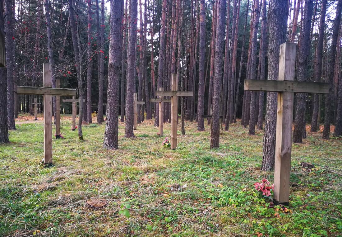 Kurapaty, Memorial de las Víctimas de Stalin