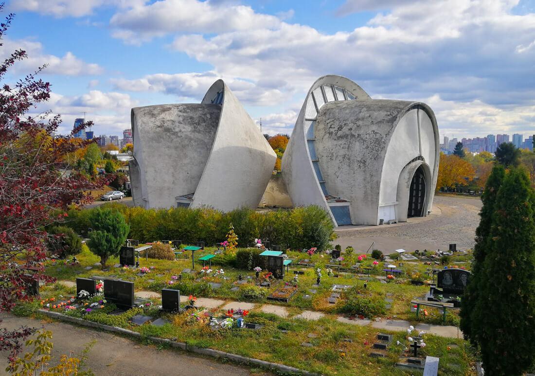 El crematorio de Kiev