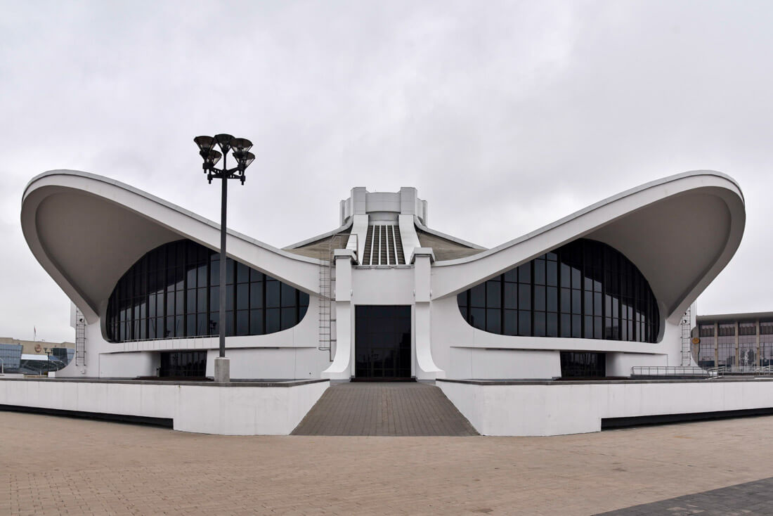El Centro de Exhibición Nacional de Minsk