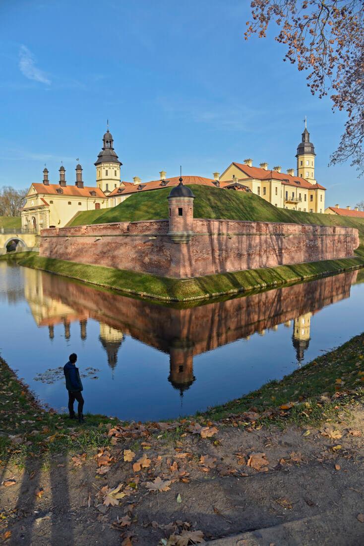 Castillo Nesvizh Bielorrusia