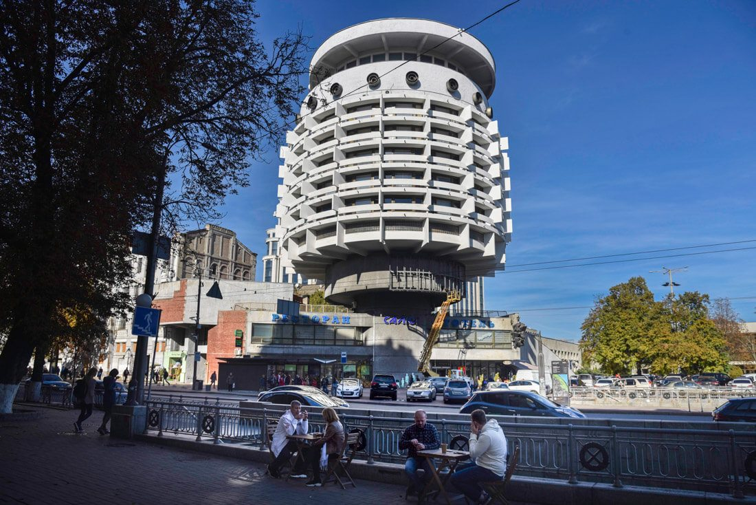 arquitectura soviética Kiev