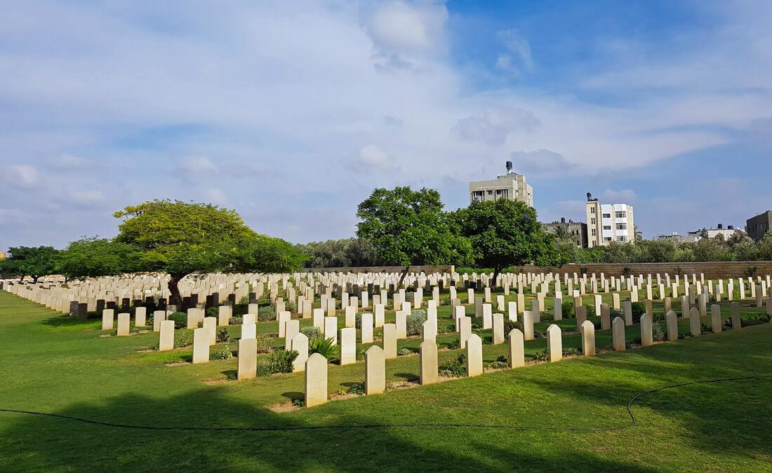 British war cemetery Gaza