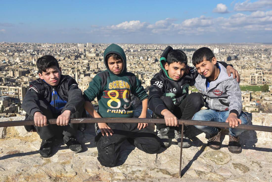 kids Aleppo