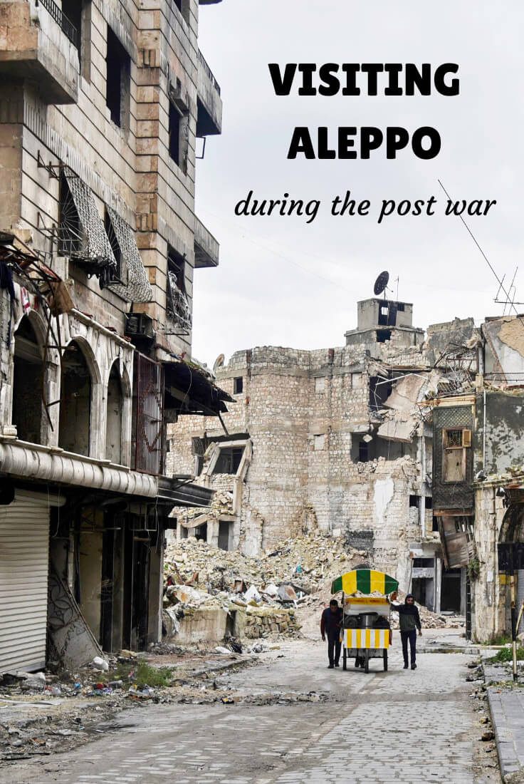 traveling to Aleppo