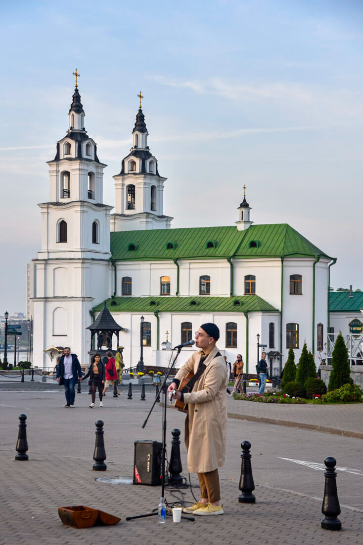 cómo viajar a Bielorrusia